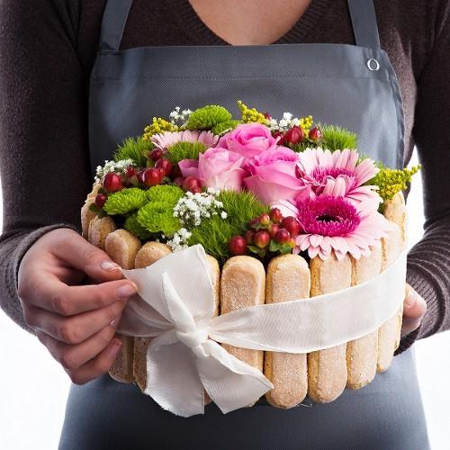 Un bouquet de mari e originale fleuriste s ve for Bouquet de fleurs 2016
